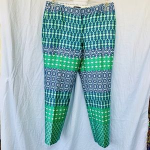 J Crew Jacquard Pants